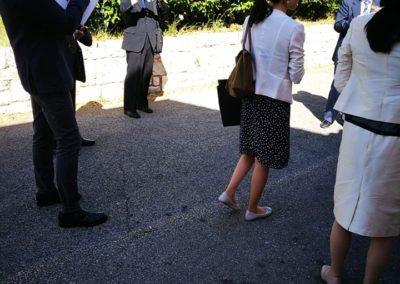 Delegazione ambasciata giapponese a Matera